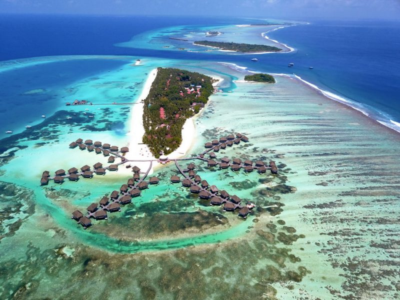 MALDIVES, DISCONNECTING FROM THE WORLD