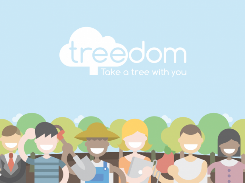 TREEDOM – LET'S GREEN THE PLANET
